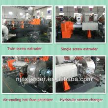 65/150 zweistufiger Einschneckenextruder für Folienrecycling