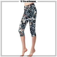 Pantalones Capri de Yoga de alta calidad personalizadas de Brasil