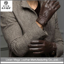 2015 Good Quality New sheepskin leather gloves