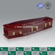 Caixão fabricante LUXES baratos caixões de madeira para venda