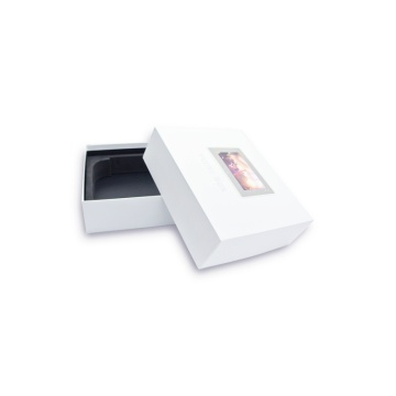 Popular Design for for Electronics Set Top Paper Box Simple white electronics paper box supply to Italy Importers