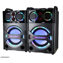 2.0 Bluetooth PA Altavoz Karaoke Entretenimiento Audio Wireless Mic E245