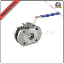 Válvula de bola de brida de acero inoxidable 1PC (YZF-V11)