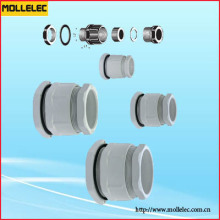 Plastic Fixed Cable Gland PGL Type Flat Type