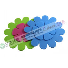 Multipurpose Food Grade Silicone Kitchen Table / Cup Mat With 15.5 * 15.5cm, 8.5* 8.5cm