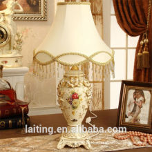 European Porcelain Desk Lamp for bedroom