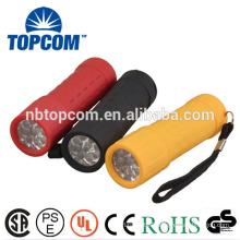 Cheap Mini Plastic Body LED Torch
