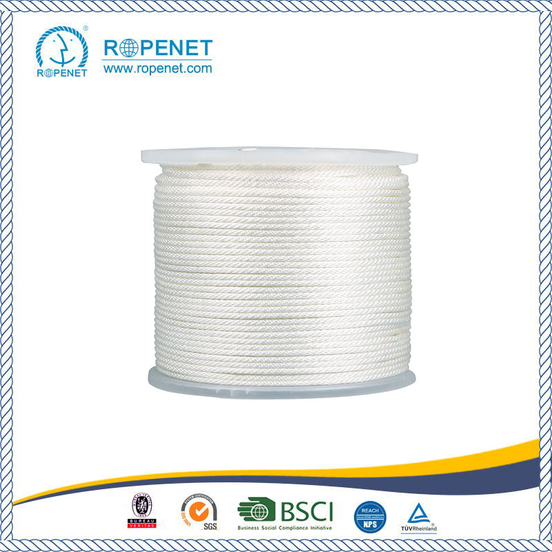 Strong Nylon Solid Braid Rope With White Color China