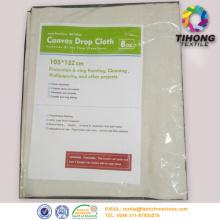 100% bawełna szary płótnie drop tkaniny