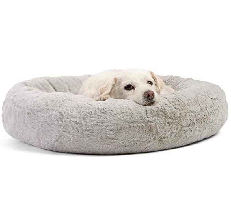 Round Donut Dog Bed