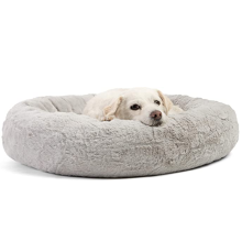 Round Donut Dog Bed