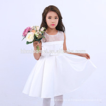 Crianças estilo casual bebê menina verão vestido menina desgaste diário vestido