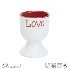 Romantic Silk Screen Love Word Egg Cup