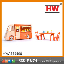 Newest  for kids Fun toys dining car toy