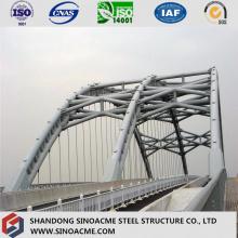 Puente de acero pesado modular modificado por certificado ISO para el transporte