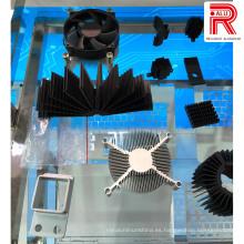 Aluminio / perfiles de aluminio de la extrusión para la lámpara del LED