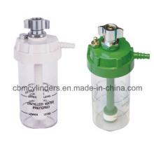 Cbmtec Reusable Chromed-Brass Plastic Oxygen Humidifier