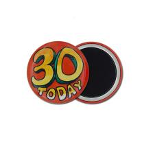 Top Sell Promotional Custom Round Printed Fridge Magnet