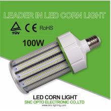 a exposição de microplaqueta conduzida da luz de rua SMD do bulbo 100w da espiga de milho cresce a iluminação do caso