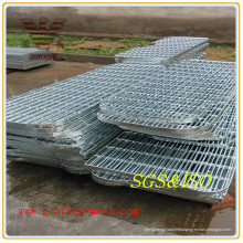 Grade de aço com formato especial de alta qualidade