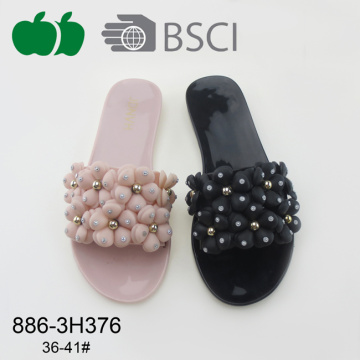 2017 Fashion Women Plastic Pvc Slippers