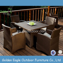 Muebles de jardín PE Rattan Outdoor Furniture