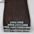 Wholesales Russian 100% Remy Human Hair Extension,Super Blue Tape Hair