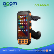 4G Rugged Android 5.1 PDA Handheld PDA With 2d Barcode Scanner
