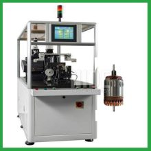 Armature surface weight removing machine