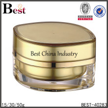 15/30/50g eye shaped gold cream cosmetic acrylic jar