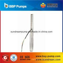 Pompe à chaleur profonde en acier inoxydable, pompe à courant continu DC