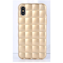 Anti-skid checker TPU phone case untuk iphone8