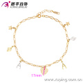 73846-xuping fashion gold anklets prices ,foot jewelry anklets,yellow gold fashion design anklets