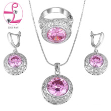 jewelry zhefan mini order white gold jewelry dubai wholes price cubic zircon jewelry set
