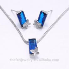 Conjunto de perlas de joyería de oro de calidad superior último diseño de dubai