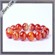 Natural Brazil Red Stones for Bracelet Jewelry