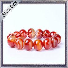 Природные бразильские красные камни для ювелирных изделий с браслетом