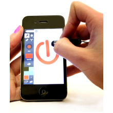 Mini Stylustouchscreenpen For Iphone / Ipad /samsung Capacitive Touch Screen Stylus