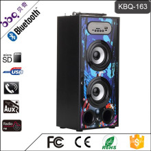 BBQ KBQ-163 10W 1200mAh 2017 New Design Portable MP3 Bluetooth Speakers