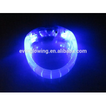 blue glow led bracelet for concerts 2017
