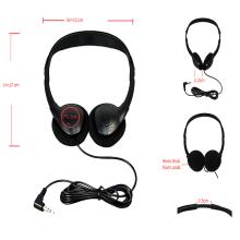OEM customized Airplane cheapest headphones