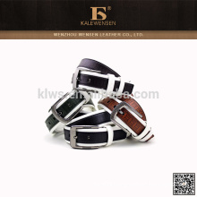 OEM cowhide custom made wholesale Newest real pu belt