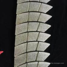 muela de diamante electrodepositada para pastillas de freno forro de freno