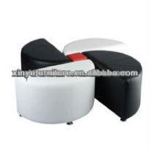 Fauteuils en fausse fleur pour meubles pour mariages utilisés XW1008