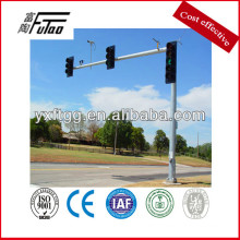 working of traffic light pole