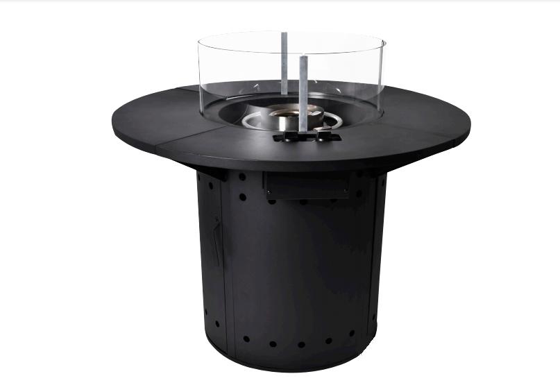 Firetable Round black