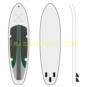 paddle board gonfiabile con bel rocker