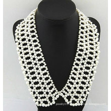 2013 collier à col doux 100% excellent collier de perles fait main FN12