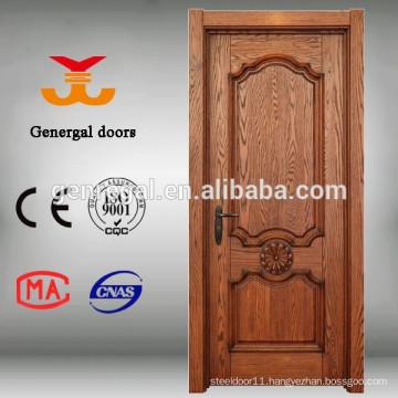 CE painting interior wooden veneer timber door