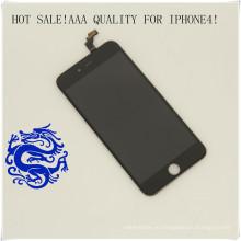 Низкой цене для iPhone 4 оригинал Разблокированный мобильный телефон ЖК-экран